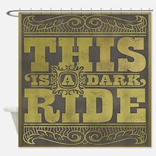 dark-ride-darks.png Shower Curtain