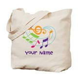 Custom music Canvas Bags