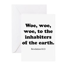 Revelation 8:13 Greeting Cards (Pk of 20)