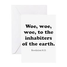 Revelation 8:13 Greeting Card
