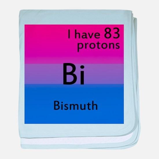Bismuth baby blanket