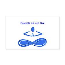 Car Magnet 20 x 12~ Namaste, we are One!