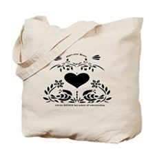 Tote Bag~ Open your heart..