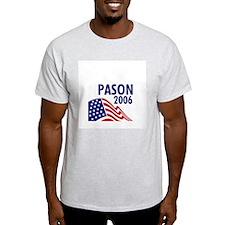 Pason 06 Ash Grey T-Shirt