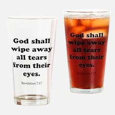 Revelation 7:17 Drinking Glass