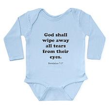 Revelation 7:17 Long Sleeve Infant Bodysuit