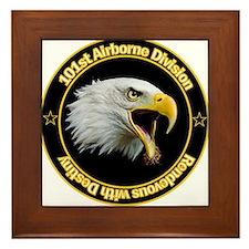101st Airborne Framed Tile
