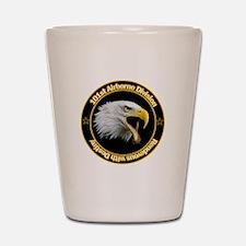 101st Airborne Shot Glass
