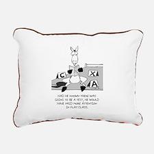 The Test Rectangular Canvas Pillow
