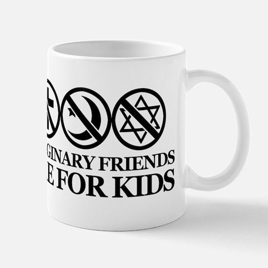 Imaginary friends are for kids Mug