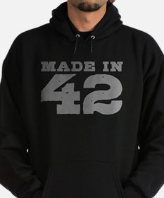 Made in 42 Hoodie (dark)