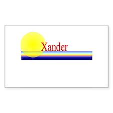 Xander Rectangle Decal