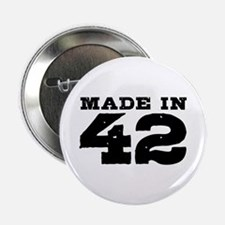 """Made in 42 2.25"""" Button"""
