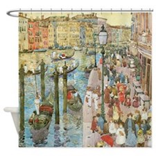 Maurice Prendergast Venice Grand Canal Shower Curt