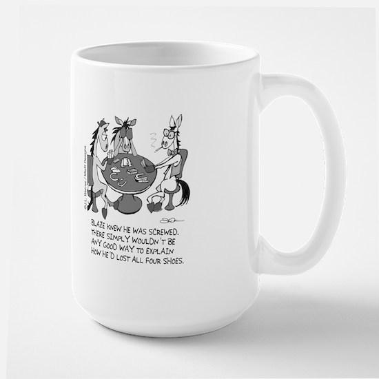 Screwed Large Mug