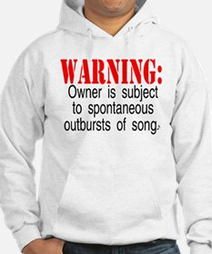 Warning: Owner subject to sp Hoodie