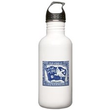 Australia 1945 Peace Postage Stamp Water Bottle