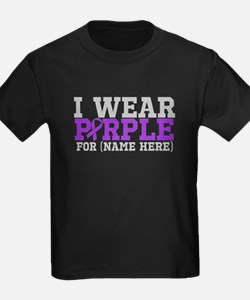 Think Purple Pancreatic Cancer T