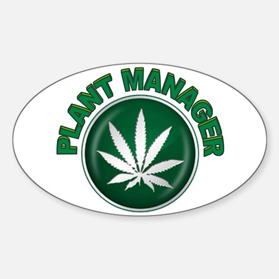 WEED Sticker (Oval)