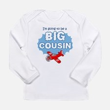 Big Cousin to be - Airplane Long Sleeve T-Shirt