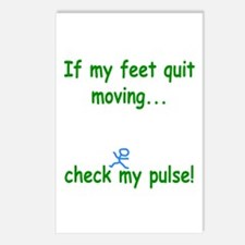 Check My Pulse Postcards (Package of 8)