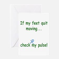 Check My Pulse Greeting Card
