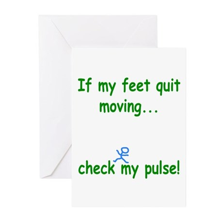 Check My Pulse Greeting Cards (Pk of 10)