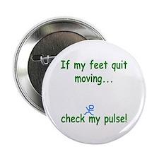 "Check My Pulse 2.25"" Button"