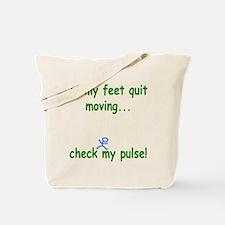 Check My Pulse Tote Bag