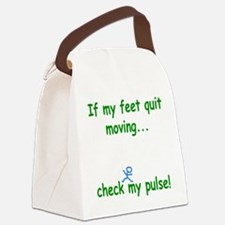 Check My Pulse Canvas Lunch Bag