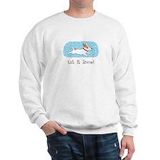 Jack Russell Let it Snow Sweatshirt