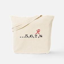 5,6,7,8 Tote Bag