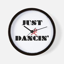 Just Dancin Wall Clock