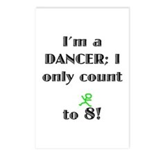 Only Count To 8 Postcards (Package of 8)
