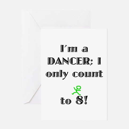 Only Count To 8 Greeting Card