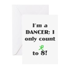 Only Count To 8 Greeting Cards (Pk of 20)