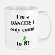 Only Count To 8 Mug