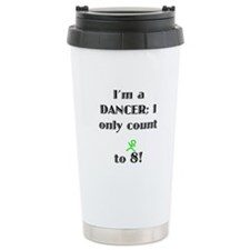 Only Count To 8 Travel Coffee Mug