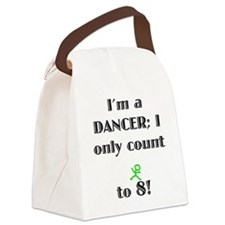 Only Count To 8 Canvas Lunch Bag