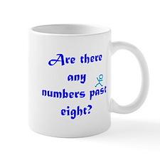 Numbers Past Eight Mug