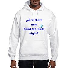 Numbers Past Eight Jumper Hoody