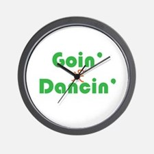 Goin Dancin Wall Clock