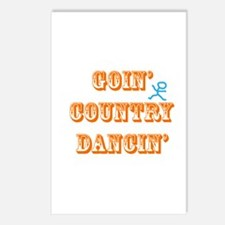 Country Dancin Postcards (Package of 8)
