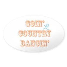 Country Dancin Decal