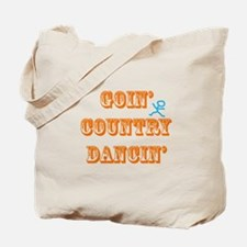 Country Dancin Tote Bag