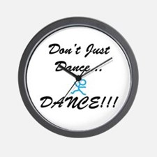 Don't Just Dance Wall Clock