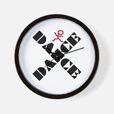 Dance Marks The Spot Wall Clock