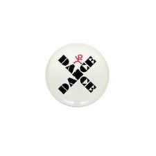 Dance Marks The Spot Mini Button (10 pack)