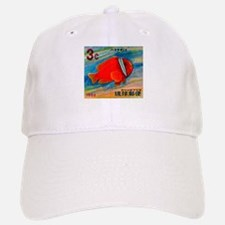 Ryukyu Islands 1966 Clownfish Postage Stamp Baseball Baseball Cap