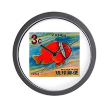 Ryukyu Islands 1966 Clownfish Postage Stamp Wall C